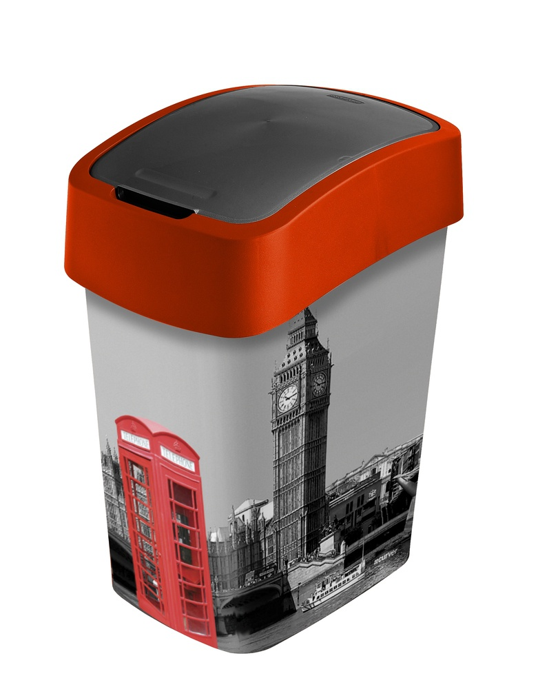 Odpadkov ko flipbin 25l london dom c pot eby franta for Poubelle de chambre london