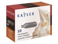 Šlehačkové bombičky Kayser 10ks/krabička