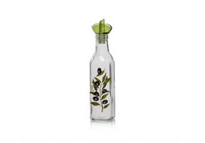 Láhev na olej Olive, dekorovaná 250 ml