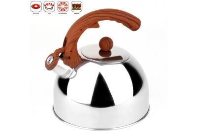 Čajník nerez-Dana 3l, imit.dřeva