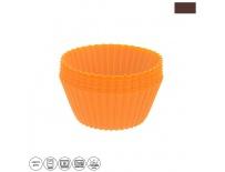 Forma silikon košíček MUFFINY 6 ks