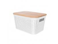 Box UH/dřevo+víko 28,5x21x15 cm