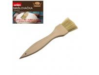 Mašlovačka dřevo plochá š.4cm