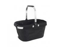 Košík skládací nákupní/piknik textil/Al s výztuží