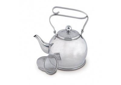 Čajník nerez + sítko 0,65 l