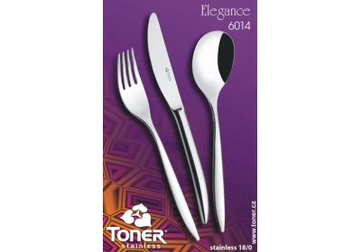 Sada nerezových příborů Toner Elegance-24-dílná
