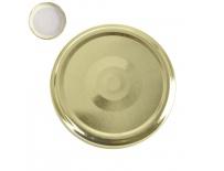 Víčko kov GOLD 82 10 ks