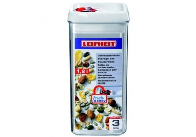 Dóza na potraviny Fresh & Easy hranatá 1200 ml LEIFHEIT