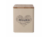 Dóza MOUKA SRDCE 11,5x11,5x14 cm
