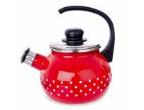 Čajník s píšťalou TEČKA 1,75 l