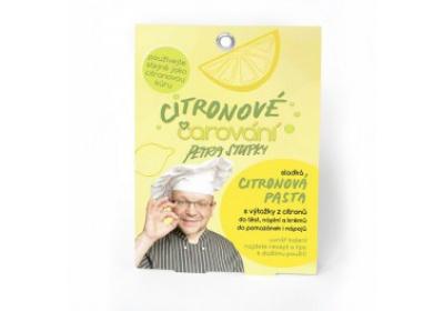 Citronové Čarování - cukrová citronová pasta