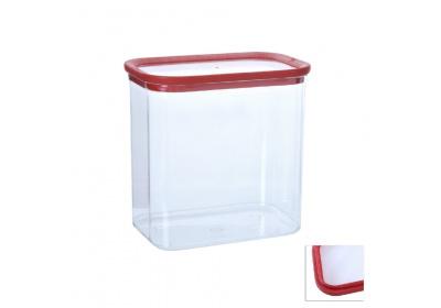 Plastová dóza, 1,7L-obdelník