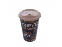 Pohár UH COFFEE víčko 0,45 l ASS