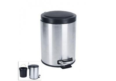 Koš odpadkový nerez/UH ped. 5l Orion
