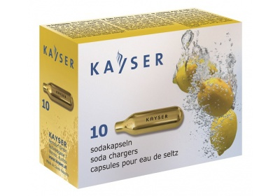 Sifonové bombičky Kayser 10ks/krabička