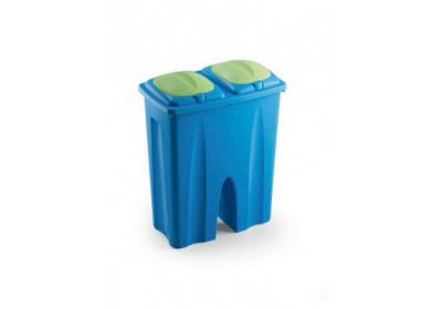 Odpadkový koš, 2x25l na tříděný odpad