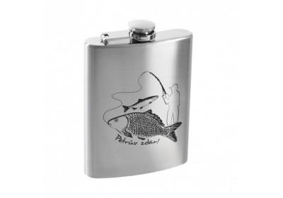 Kapesní lahev - rybář