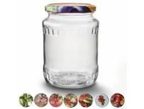 Zavařovací sklenice s víčkem 0,72 l