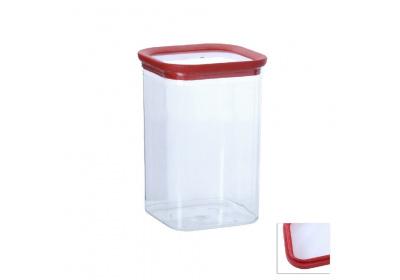 Plastová dóza, 1,7L-čtverec