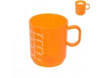 Odměrka UH potisk 0,25l oranžová