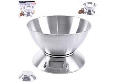 Váha kuchyňská digitální nerez 5kg Orion